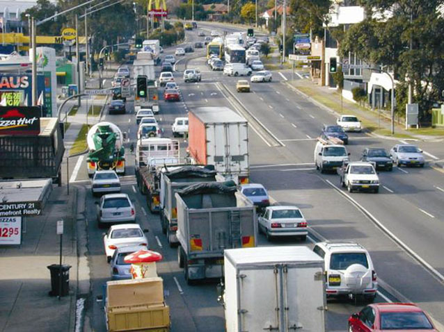 Pennant Hills Rd at Thornleigh