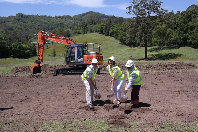Sod turning for Warrell Creek to Nambucca Heads