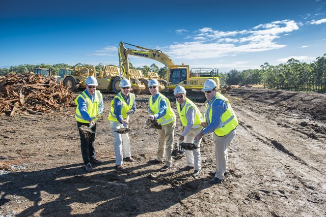 Sod Turn for Woolgoolga to Ballina on 27 June 2015