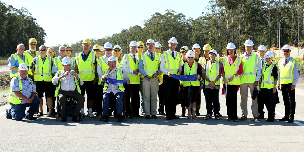 Pacific Highway - The opening of the Frederickton to Eungai project on the Pacific Highway